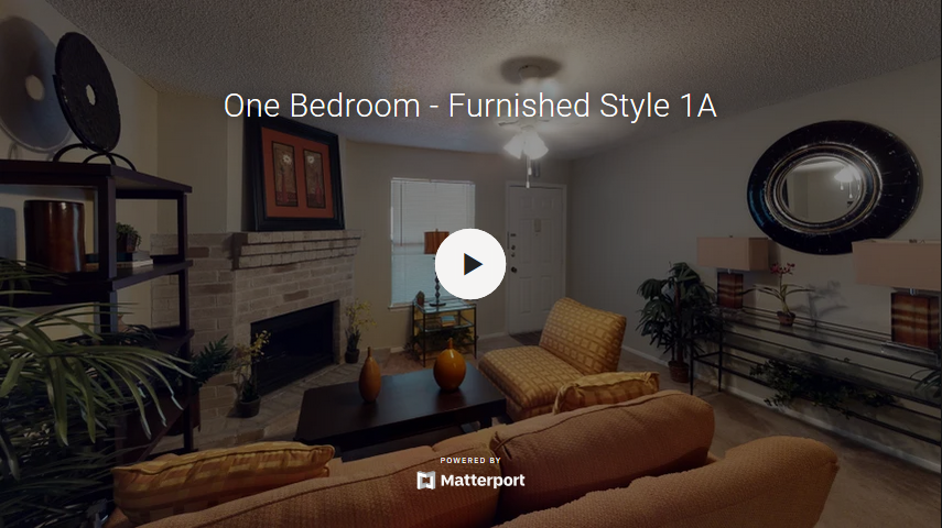 One Bedroom - Furnished Style 1A